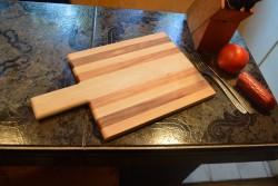 Кухненска дъска череша-бук 1-2