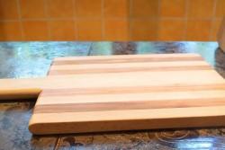 Кухненска дъска череша-бук 1-3