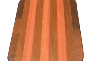 teak-Purpleheart cutting-board