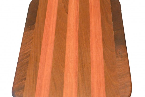 teak-Purpleheart cutting-board