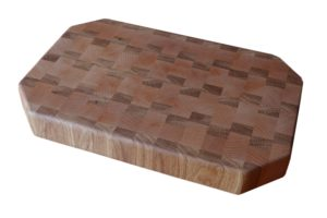 Cutting Board - BIG - 41x27x5 endgrain - Beech-Oak