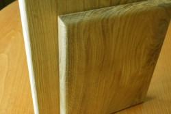 Oak set 2 boards solid wood 2