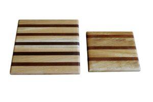 Дървени дъски комплект