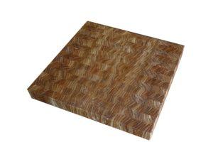 Елегантна дървена дъска подложка
