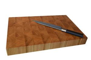 Ръчно изработена голяма дъска за рязане